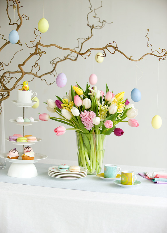 - Decoration table de paques ...